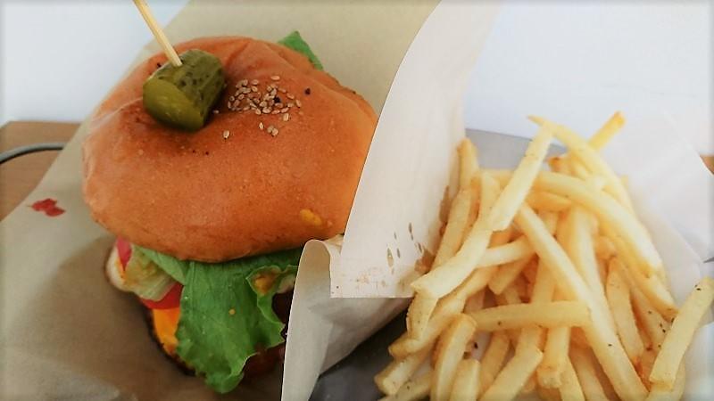 Kazboのハンバーガー